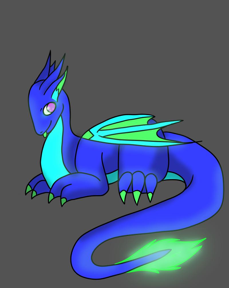Baby Dragon Full Body