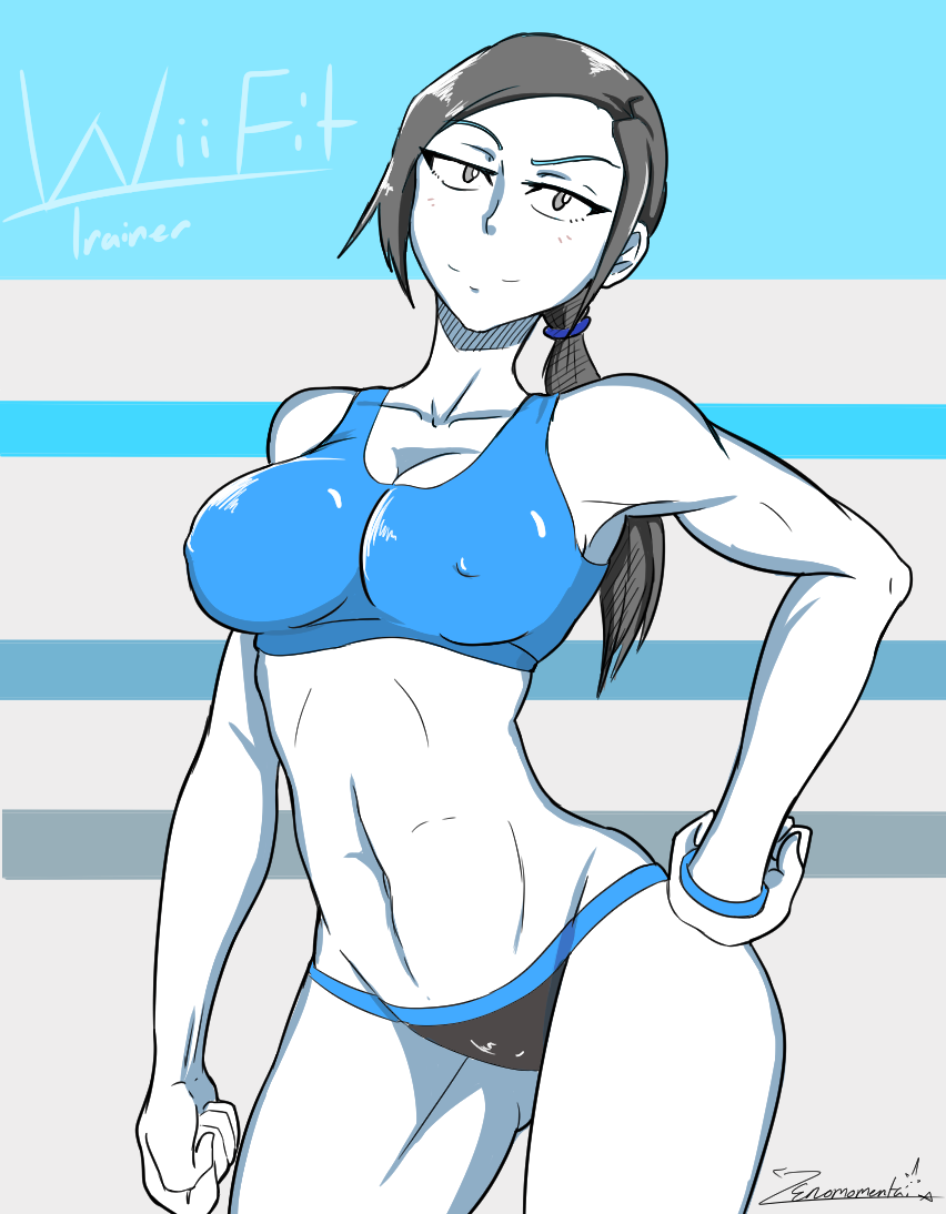 Wii fit Pinup
