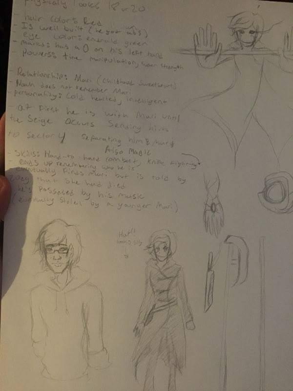 Character Concept- N.Walker