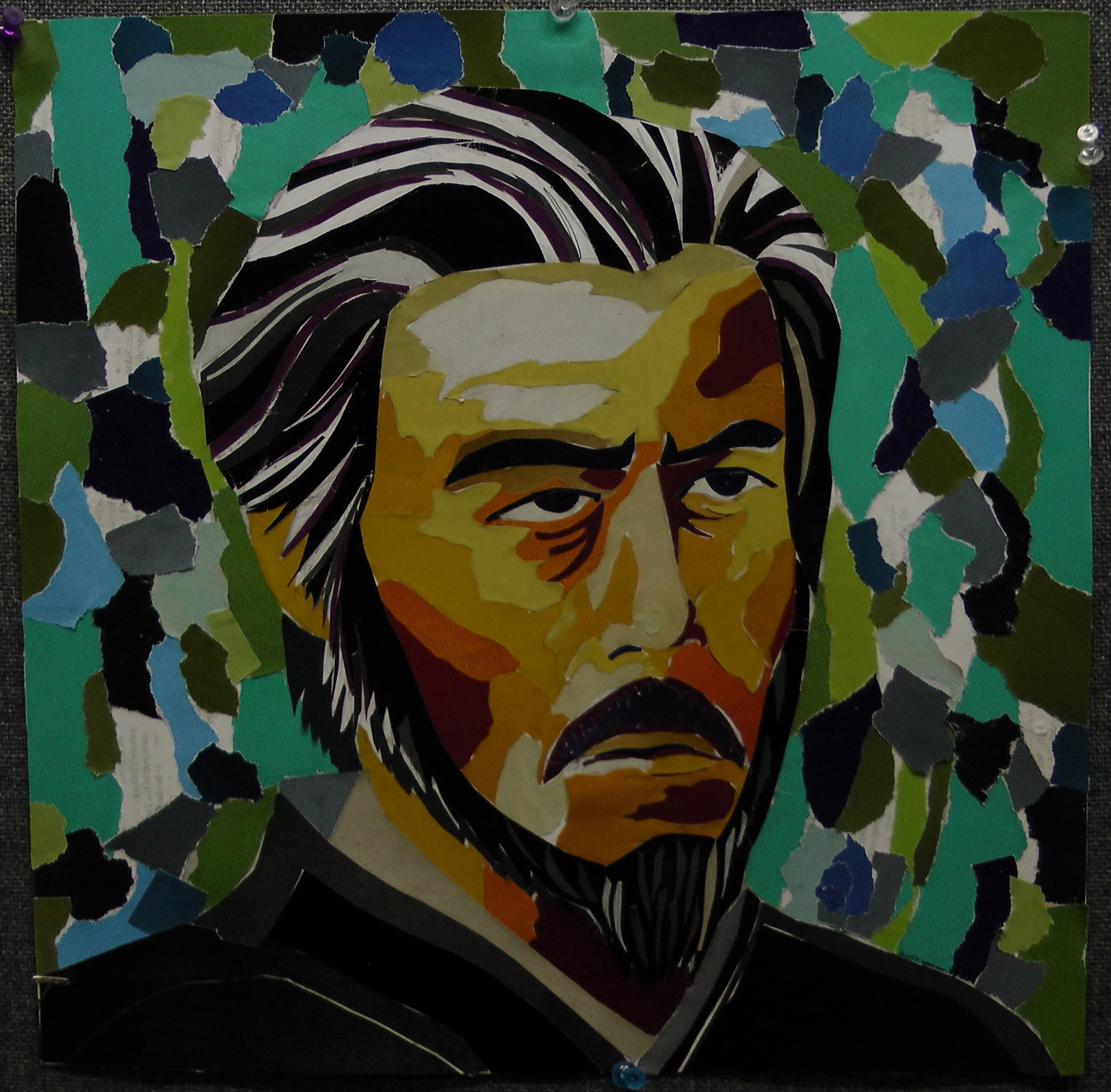 Alan Watts Portrait
