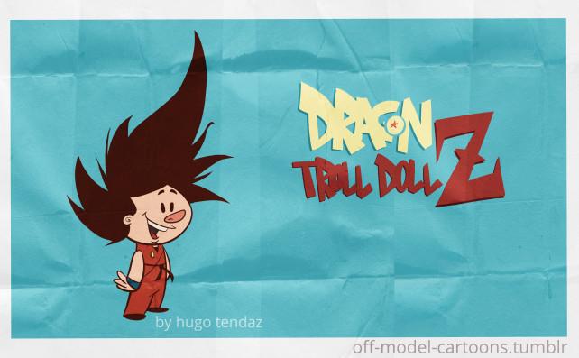 Dragonball - Goku Off-model Cartoon
