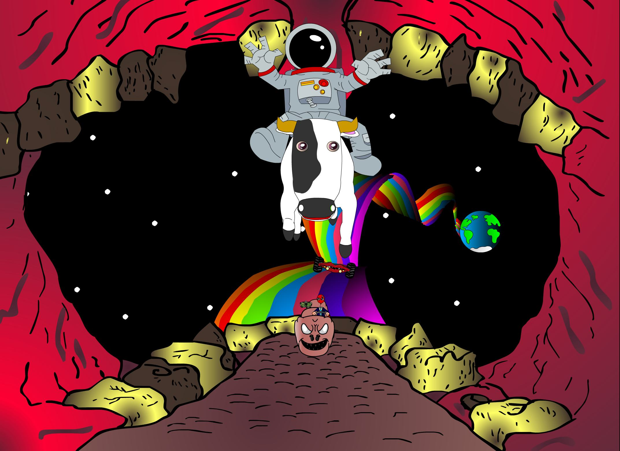 Travel in Space - Viaje en el Espacio