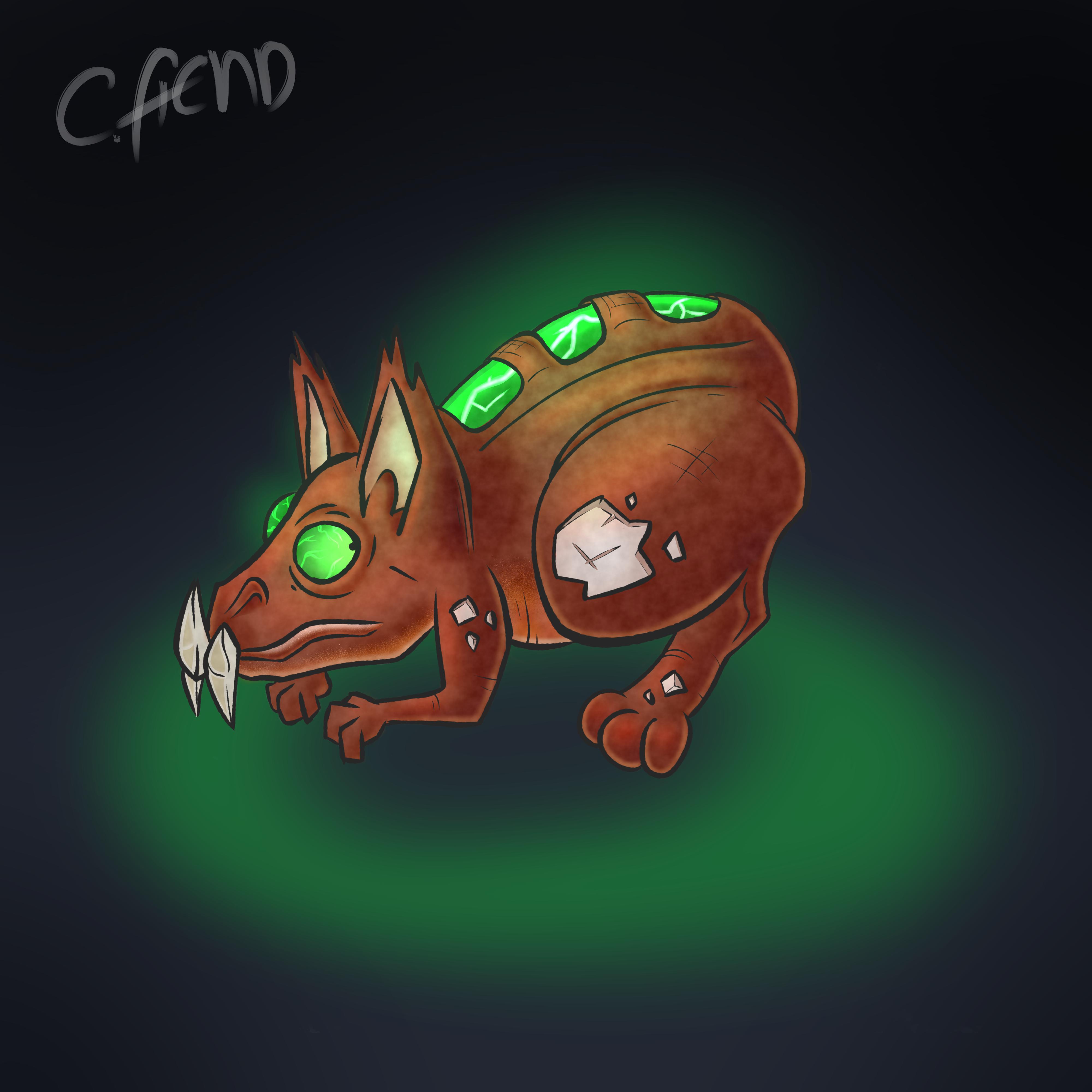 Alien Rodent