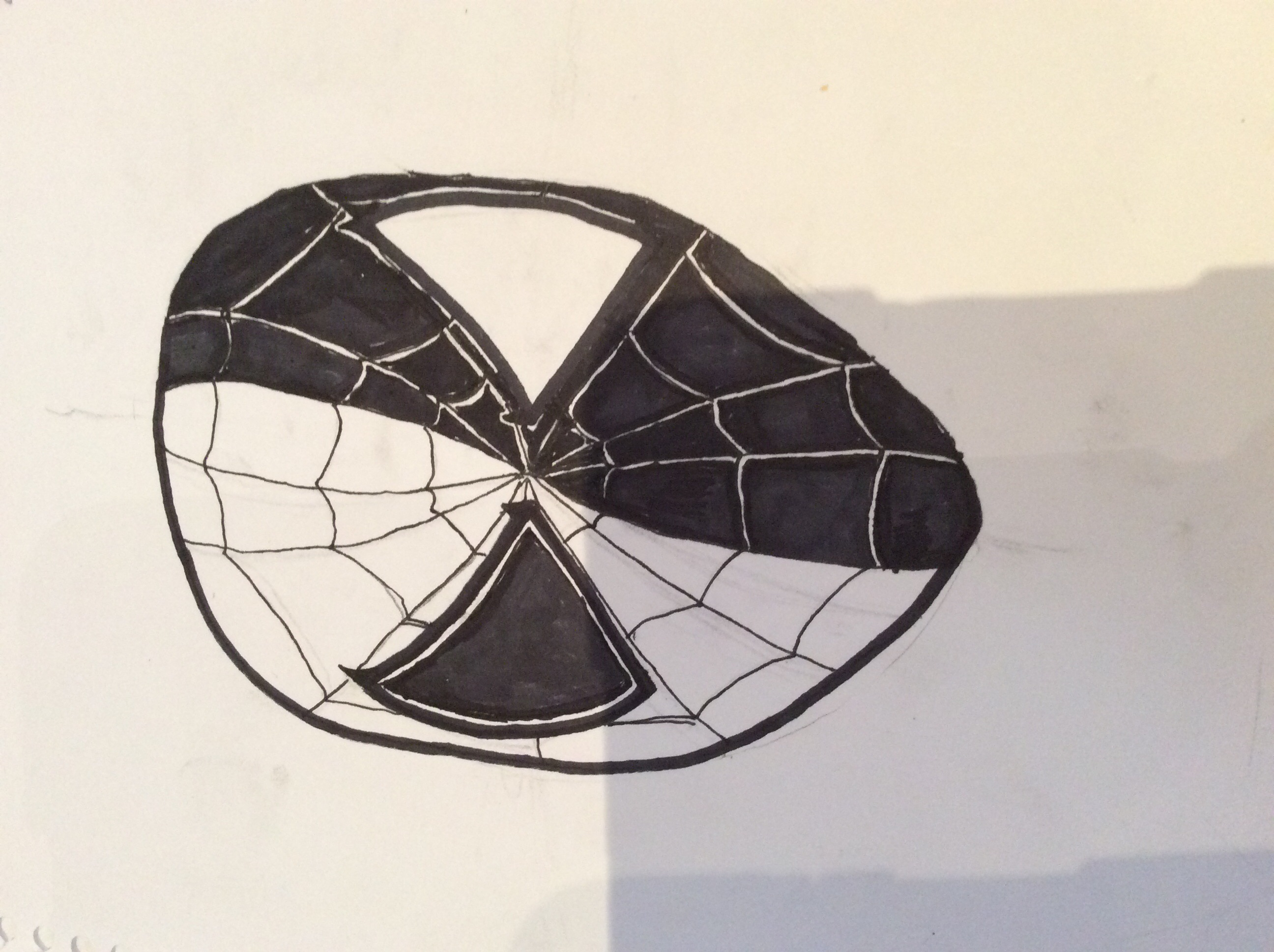 Yin Yang, spider man