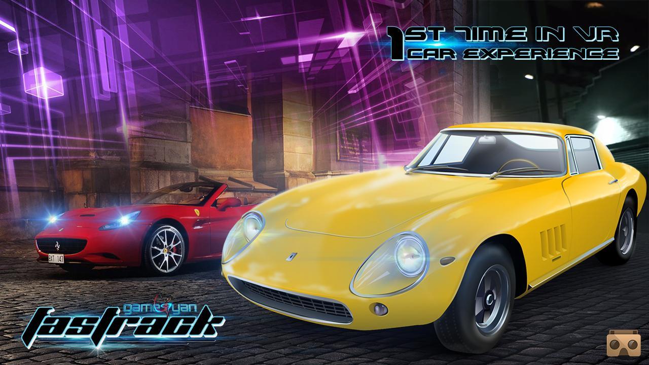 Virtual Reality Game for Car Racing - Cardboard