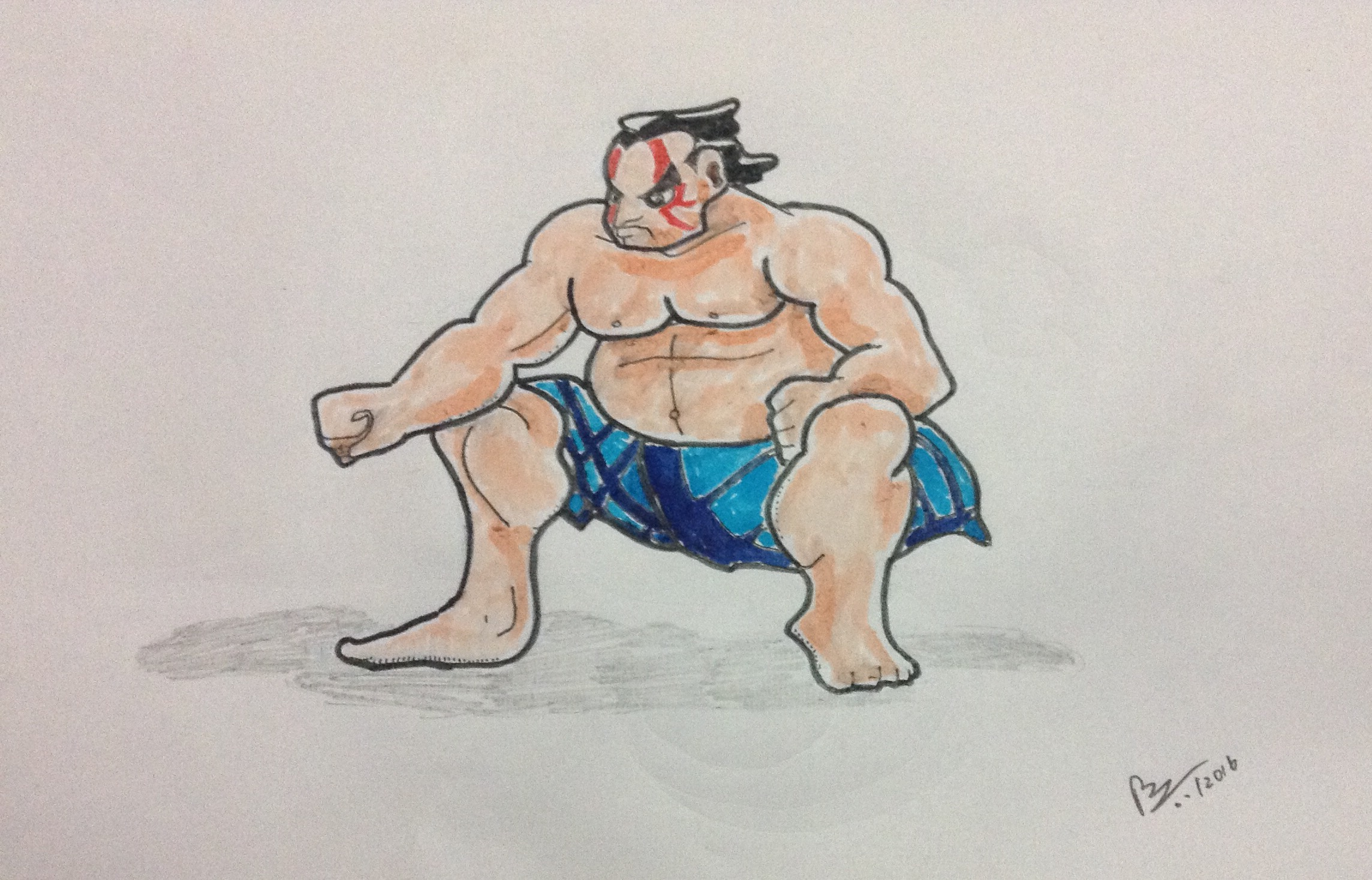 street fighter (the sumo guy)