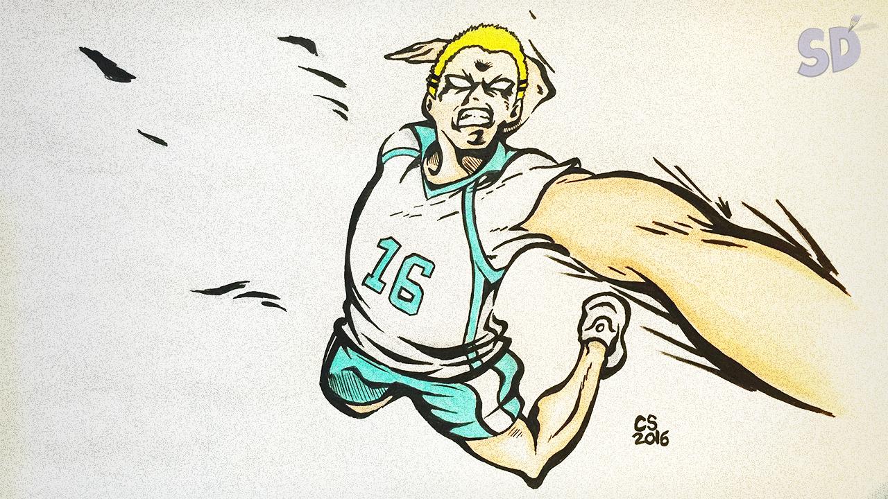 Drawing Kyotani Kentaro (Mad Dog) from Haikyuu!!