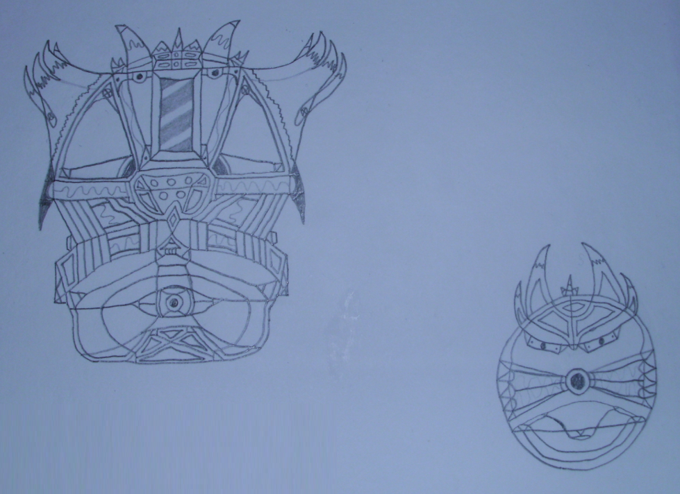 Art #2 -- Space Head Duo