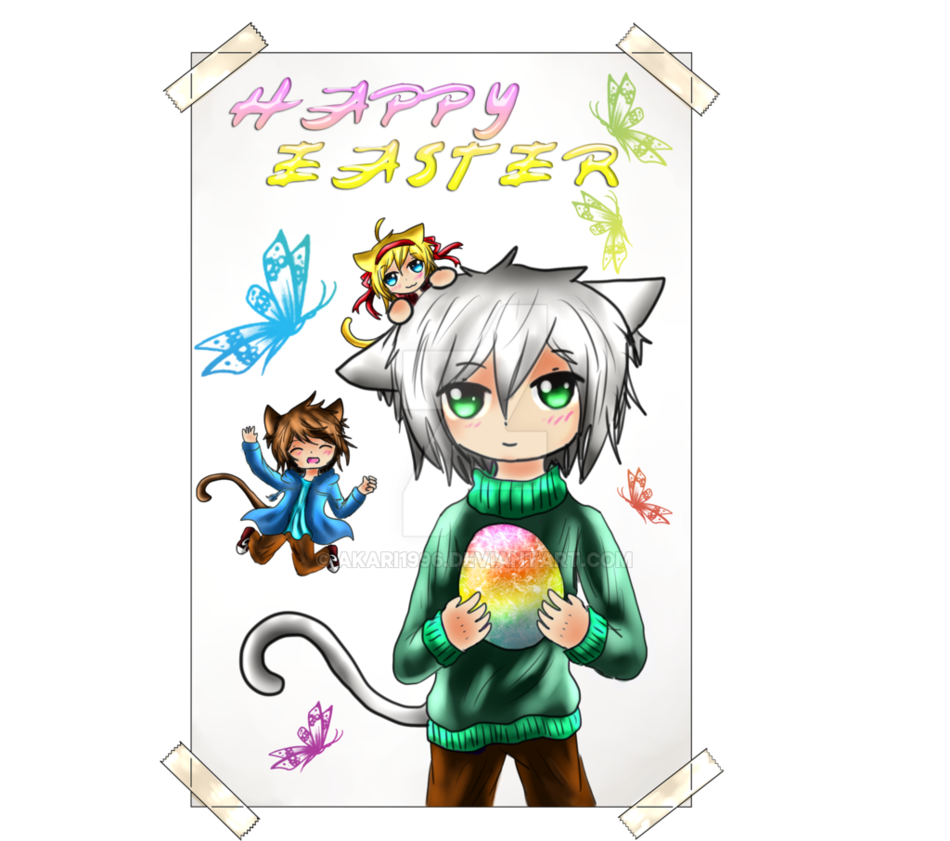 Happy EASTER to EVEYONE XD