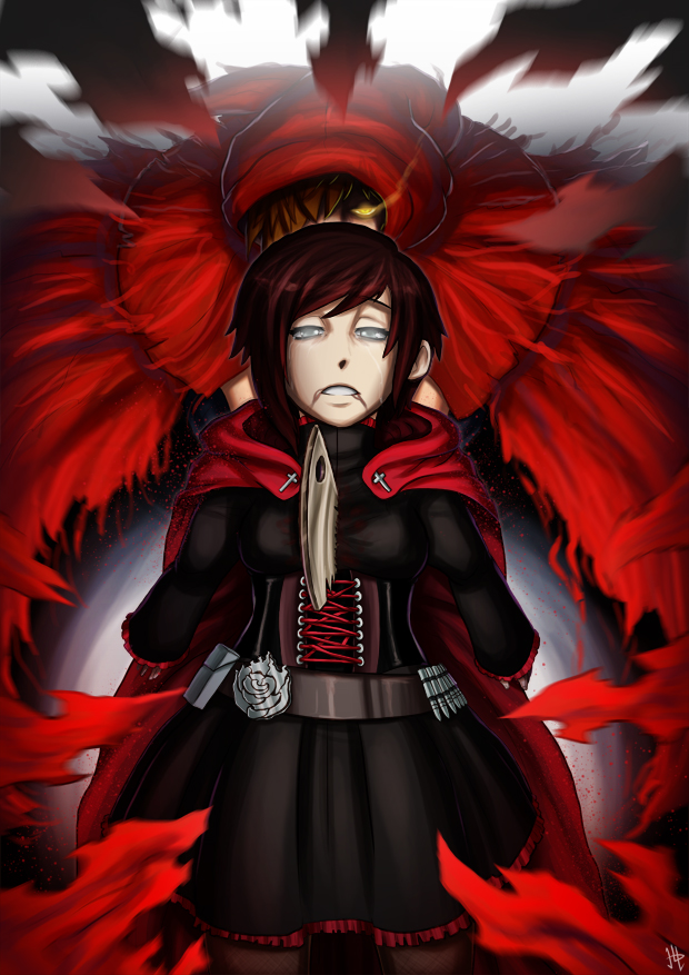 Embrace the Red (RWBY/Ever After)