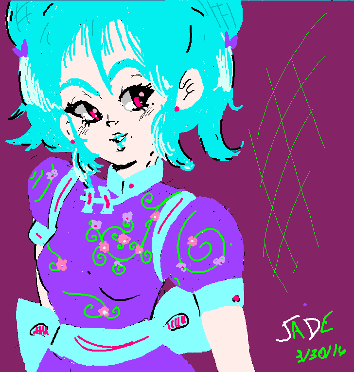 MS paint girl thing.