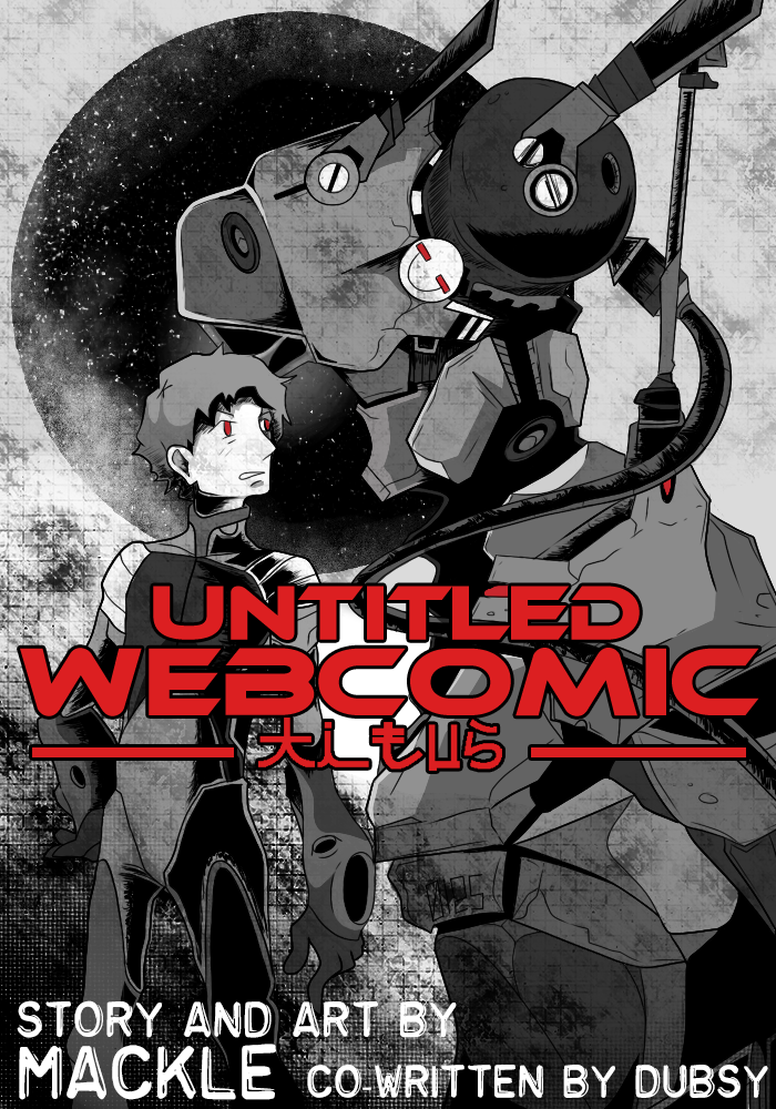 New Web comic cover