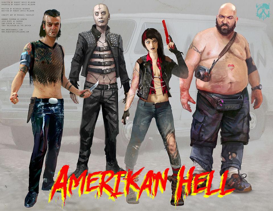 Amerikan Hell Concept Art