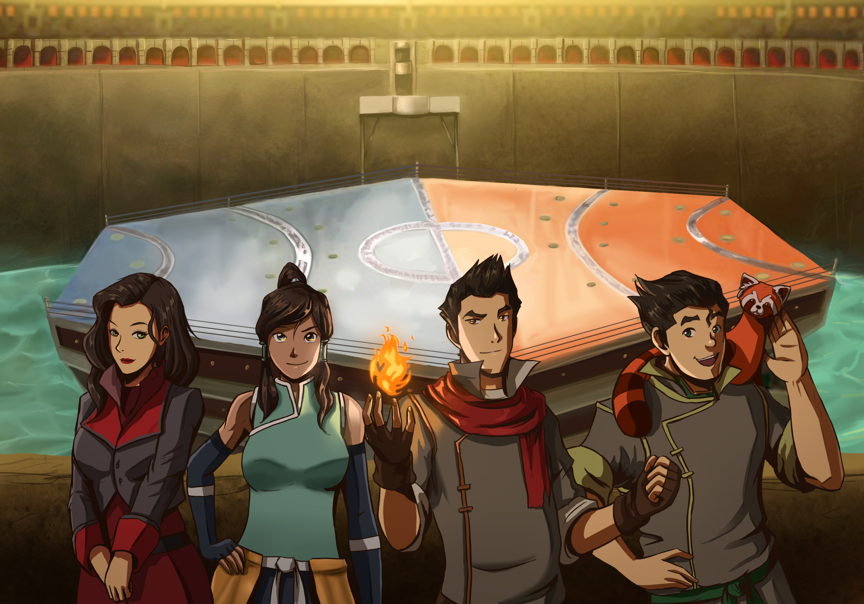 Avatar legend of korra artwork!