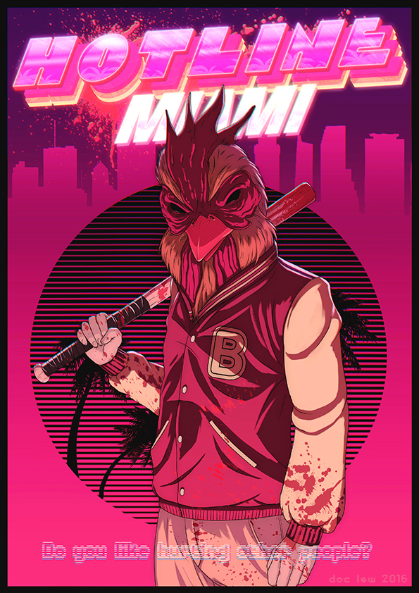 Hotline Miami - Richard