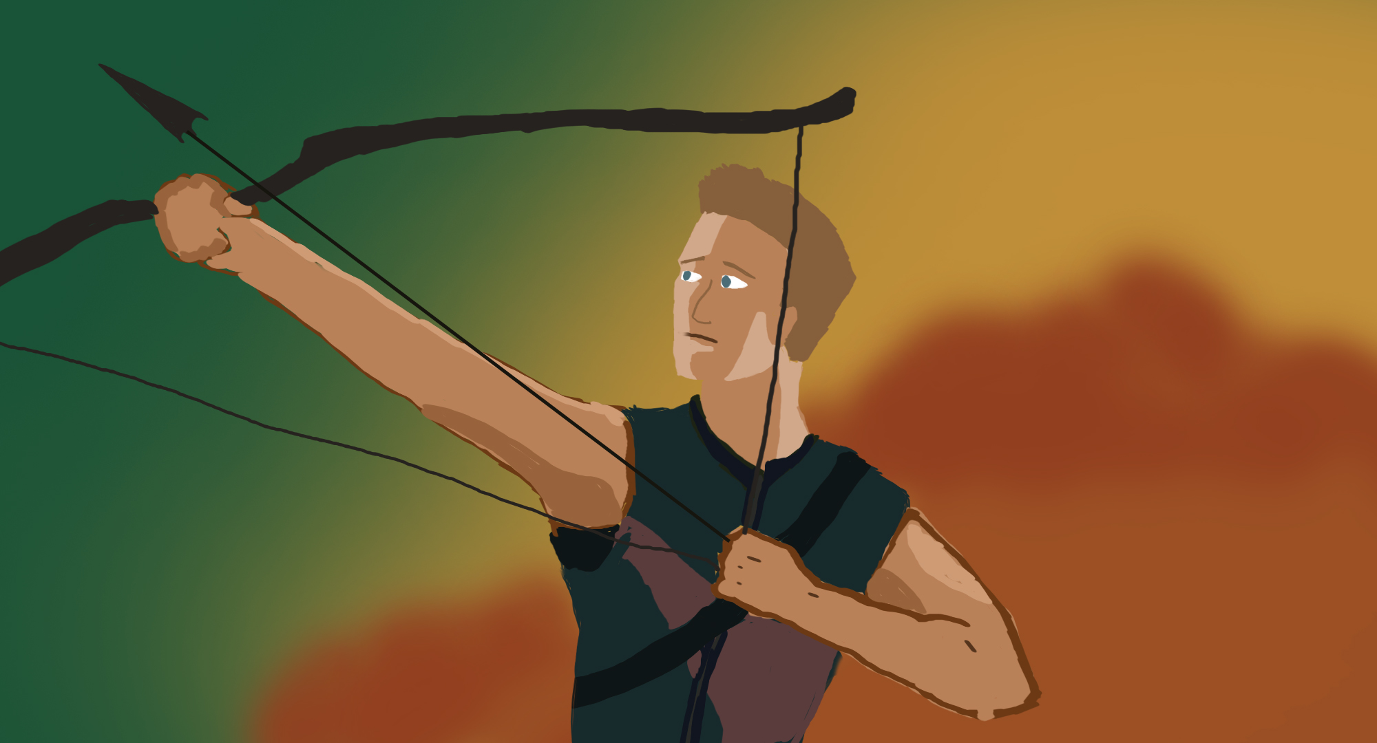 Hawkeye Fan art
