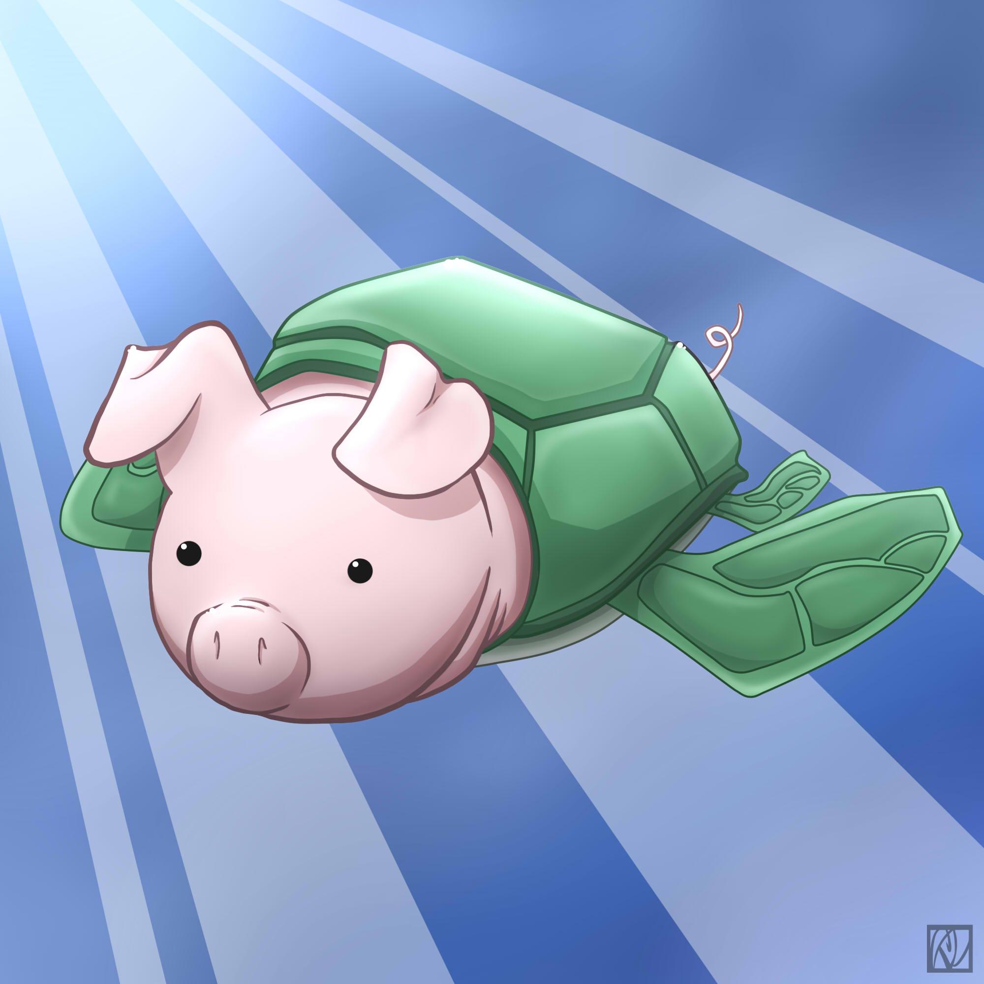 Sea Turtle Pig