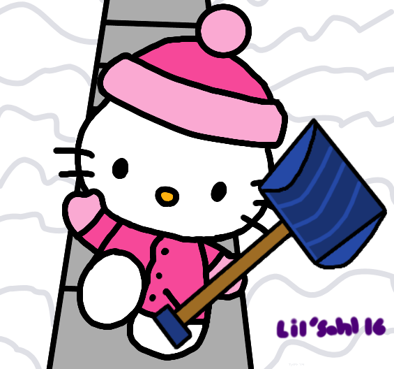 Snowy Hello Kitty