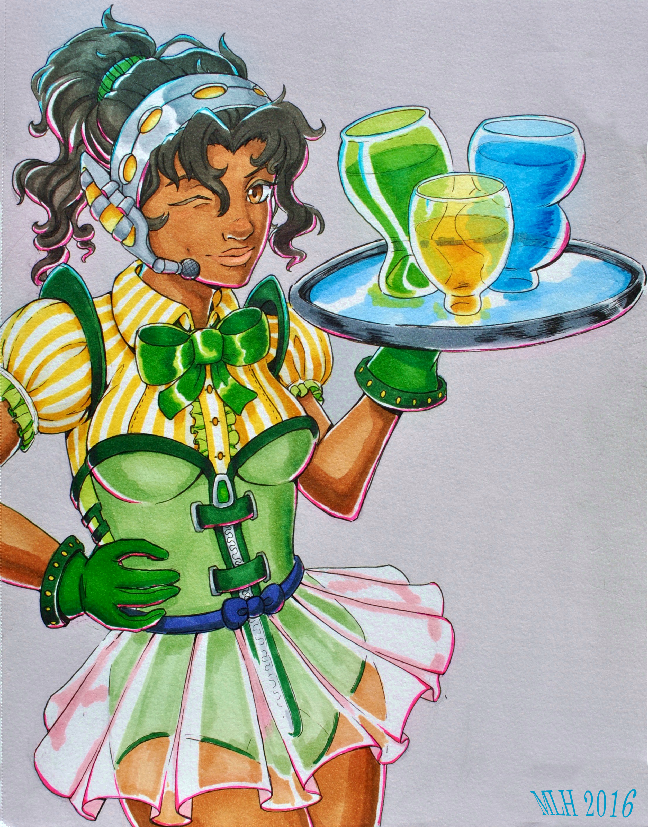 Space Waitress