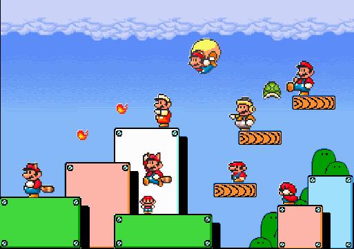 Super Mario Bros 3 Gathering