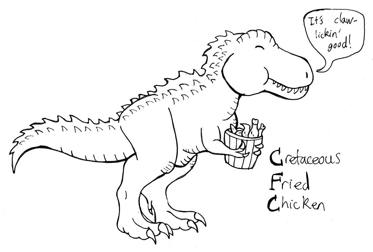 Cretaceous Fried Chicken