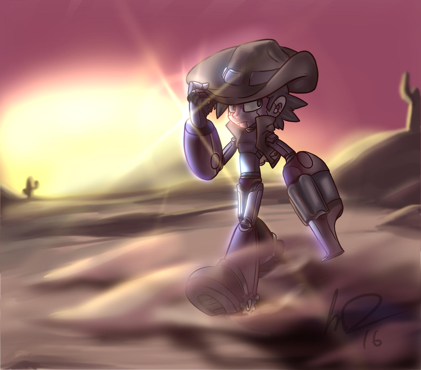 Old West Mega Man