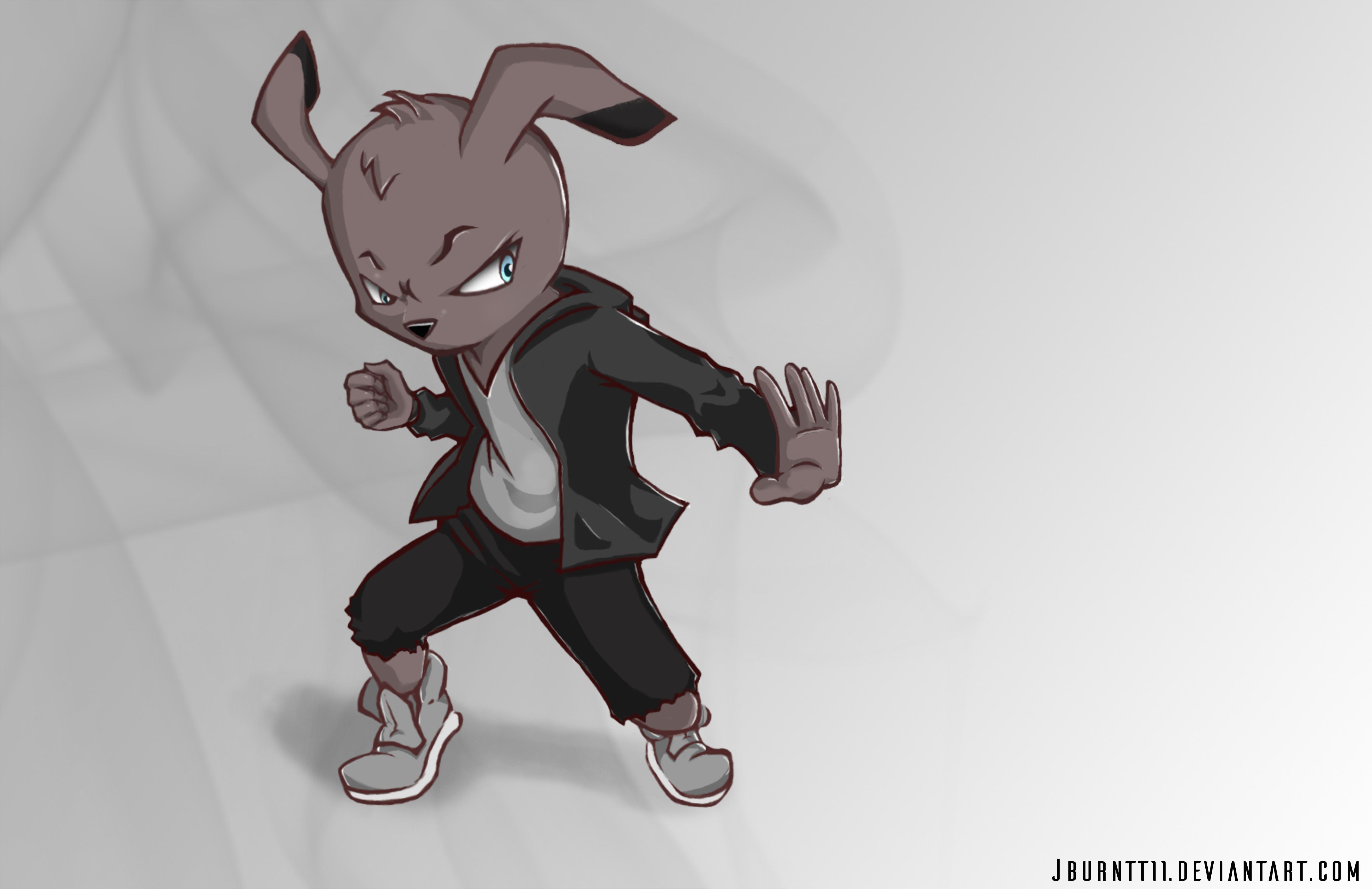 Cool Wabbit Character Design