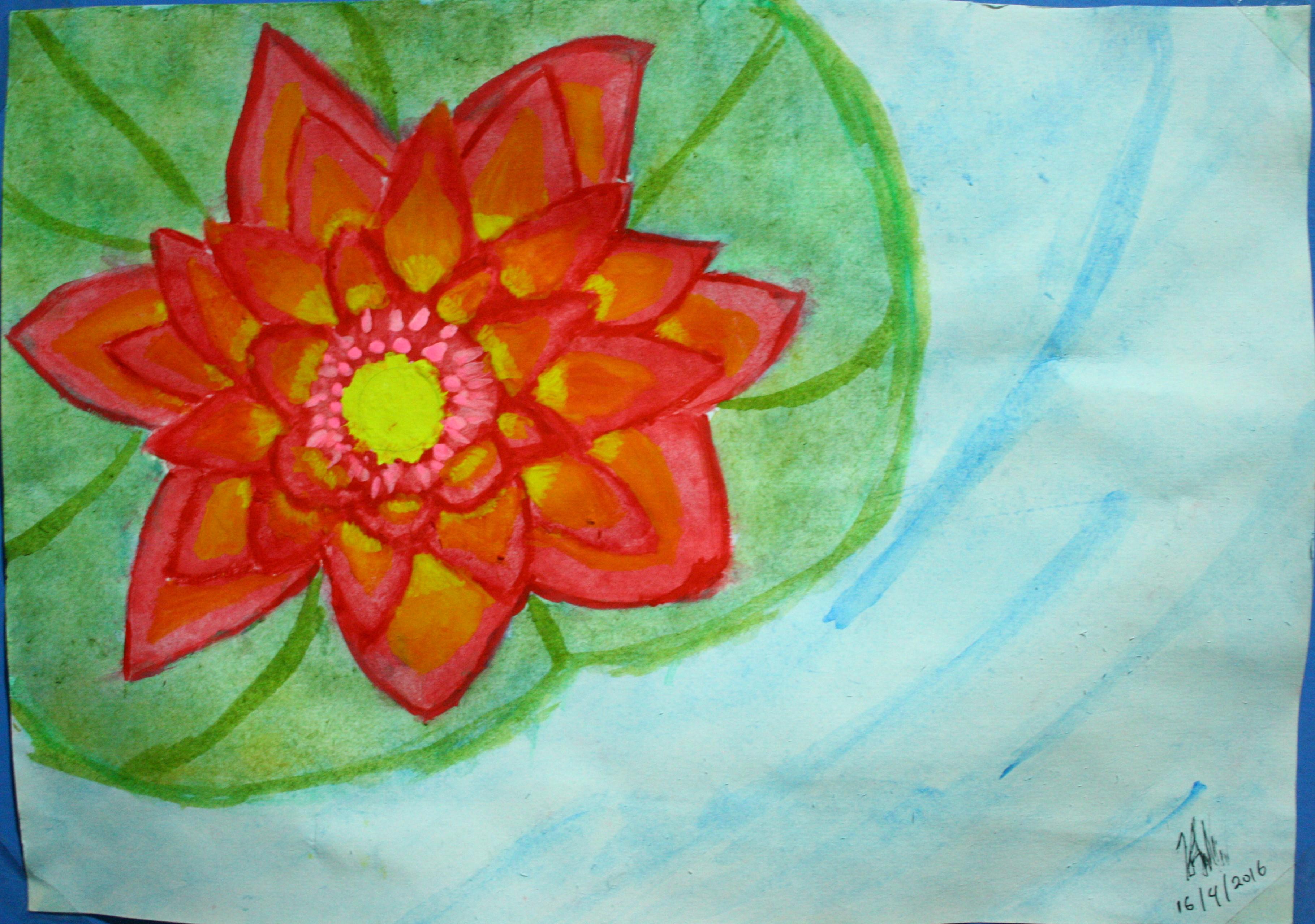 Crimson Lotus By Allucia On Newgrounds