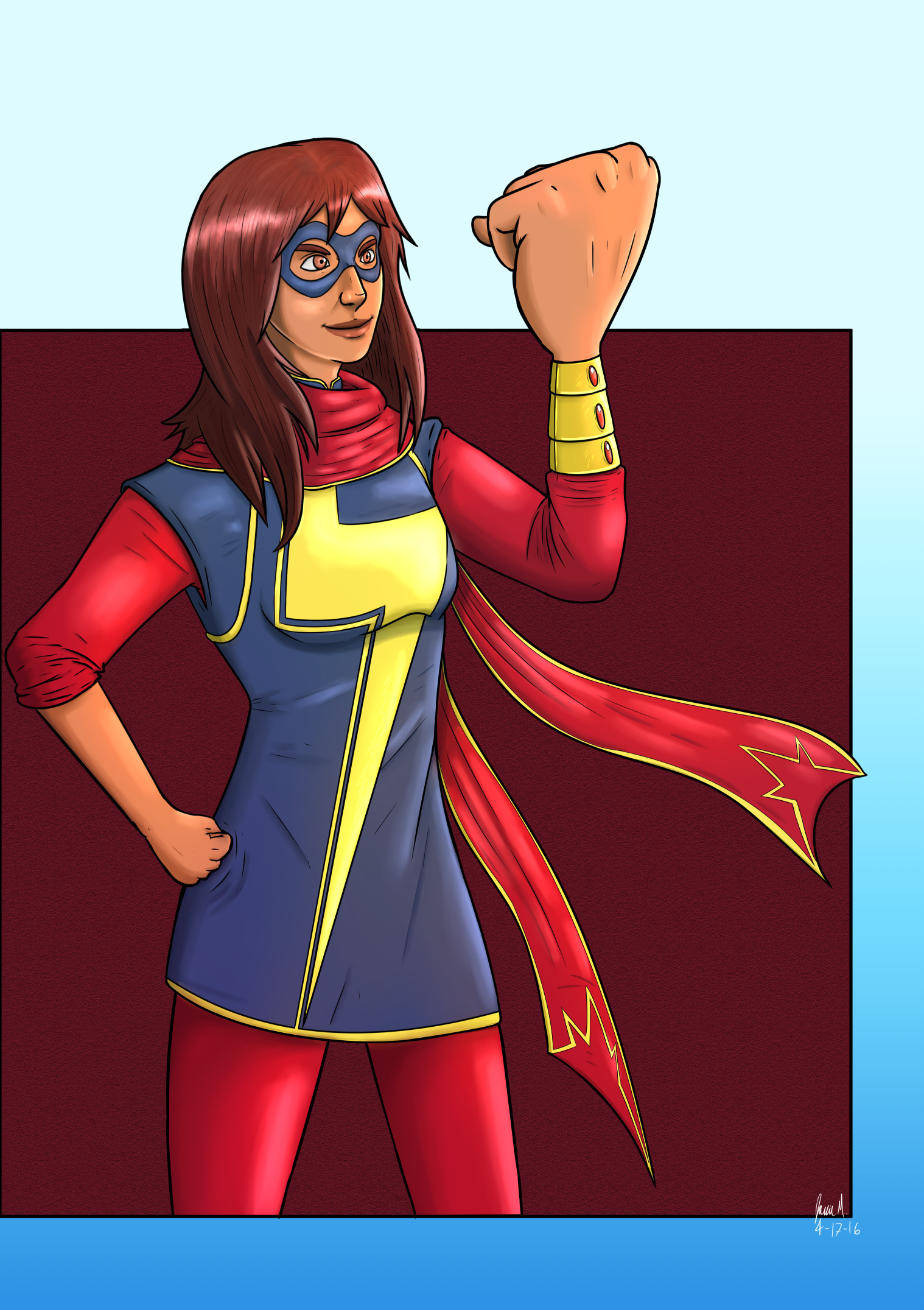 Ms Marvel is pretty swell