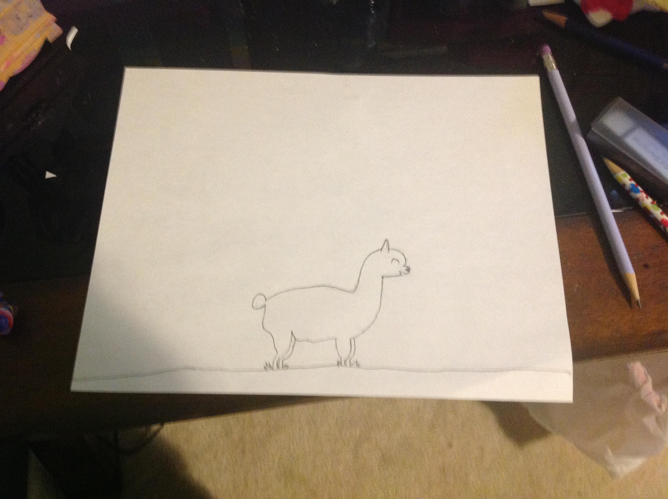"Alpaca for ""The Alpacalyps"""