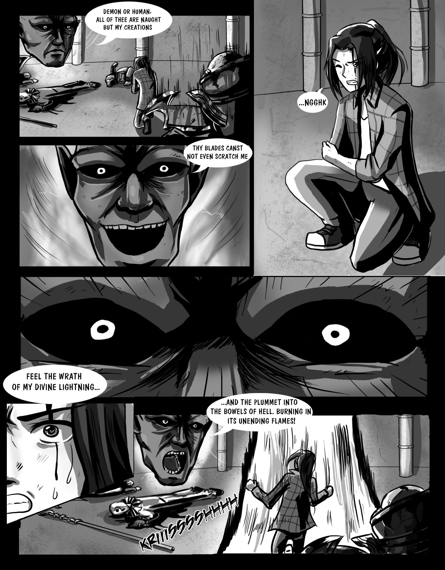 manga page sample