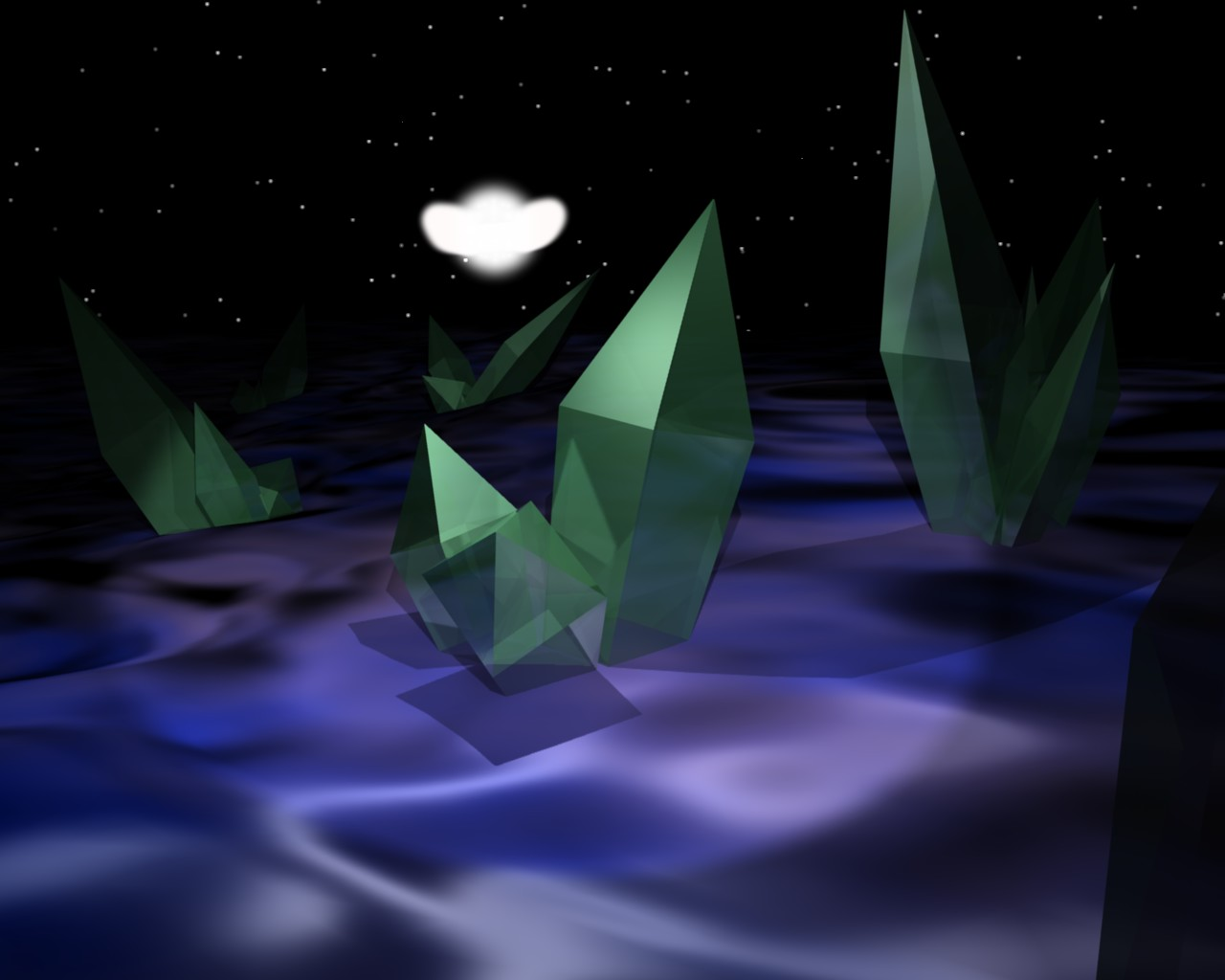 Alien Crystal Field