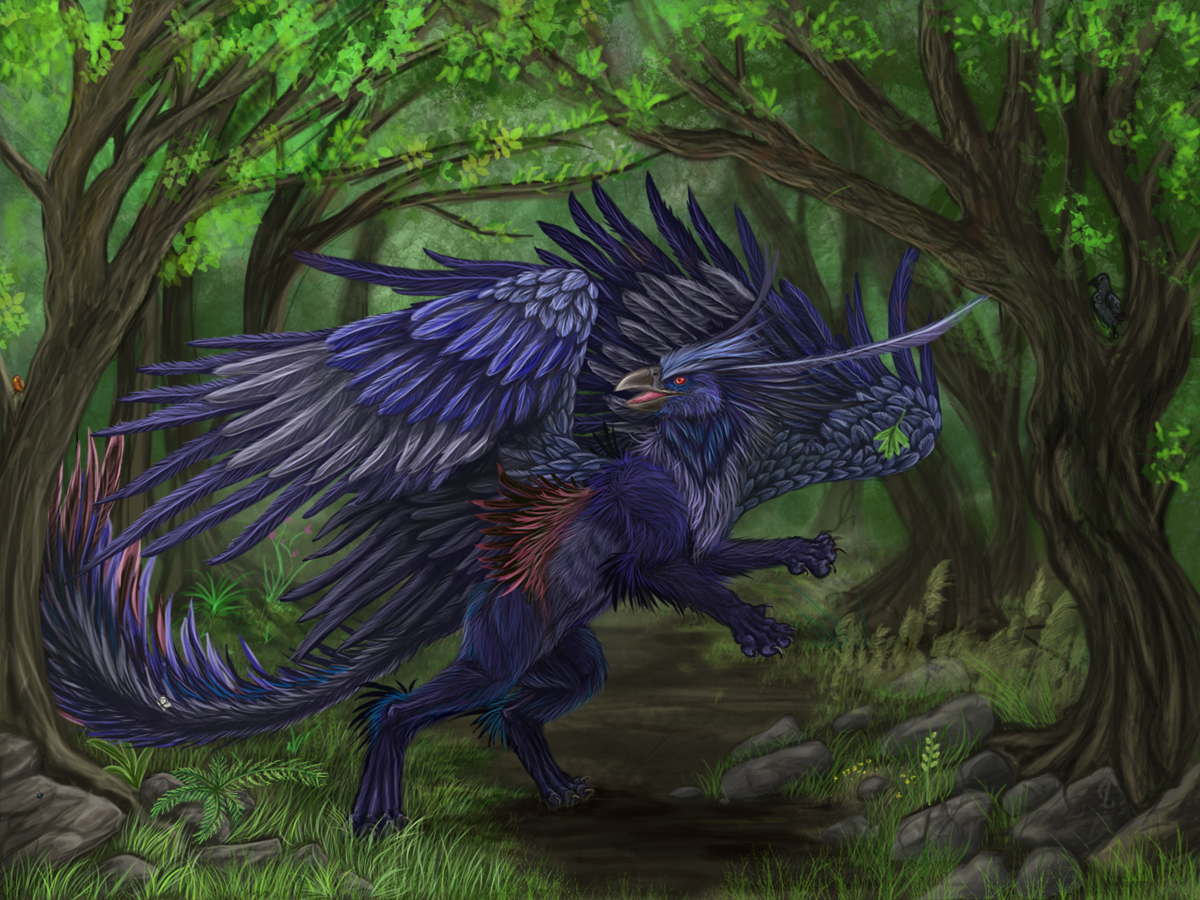 Tropical griffin
