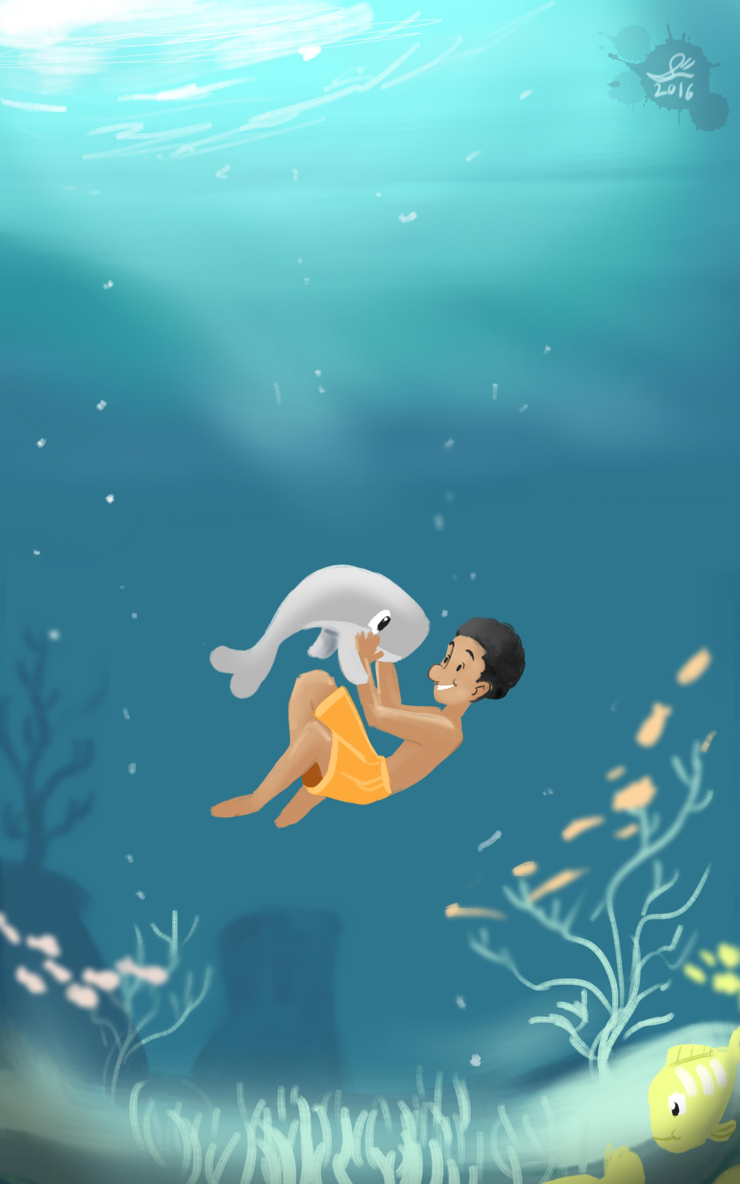 A Boy and his Tiny Whale