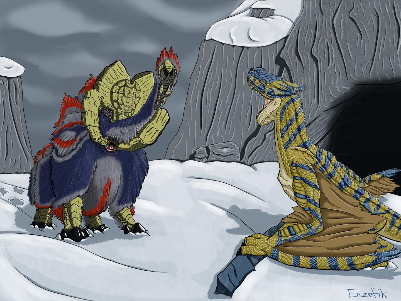 Snowbound Clash