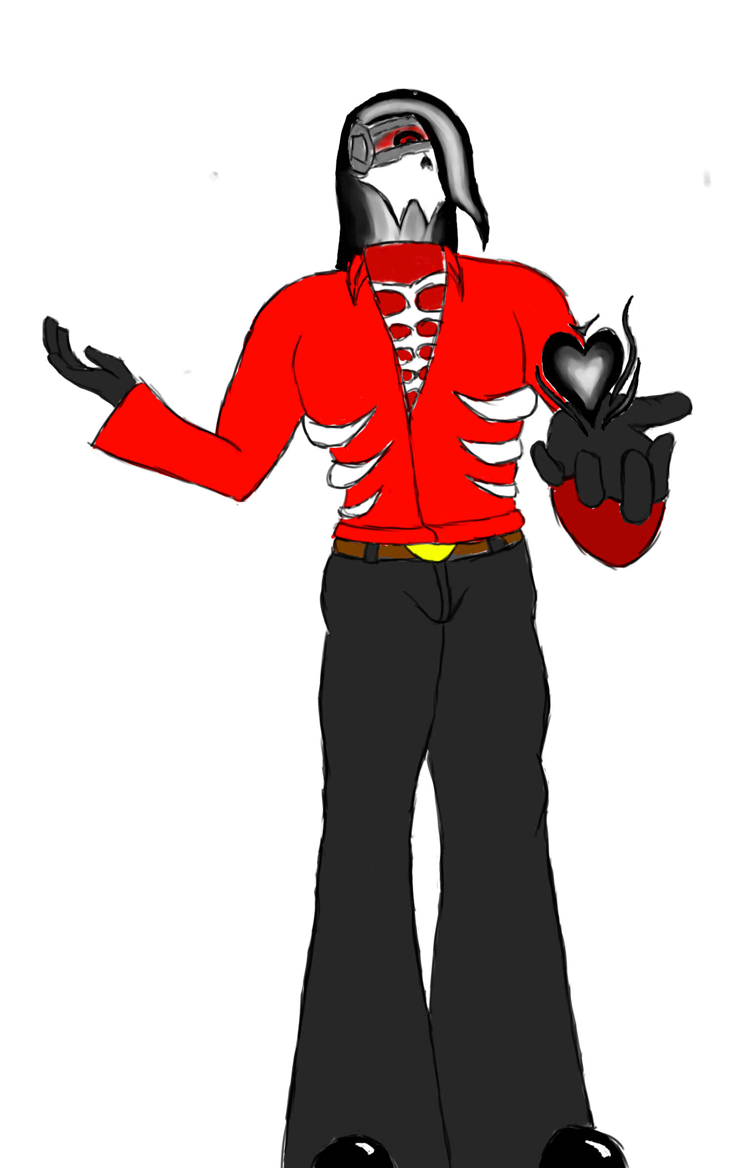 mystery skull persona (my persona similar as luwis in mystery skulls