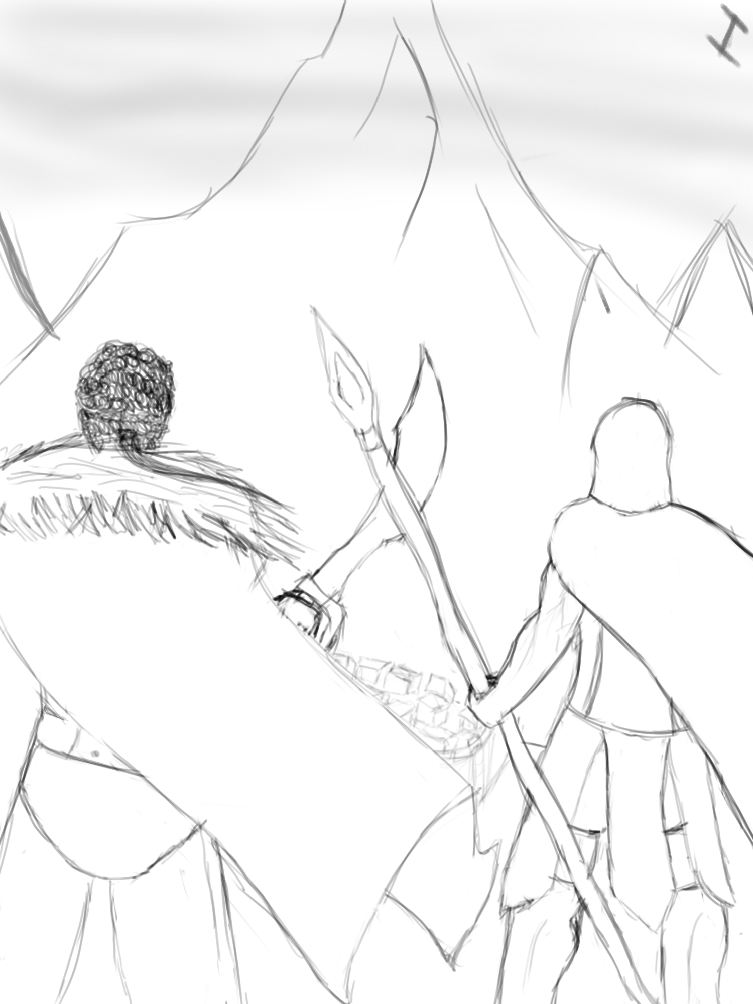 pantheon and his friend with the mt.targon dream