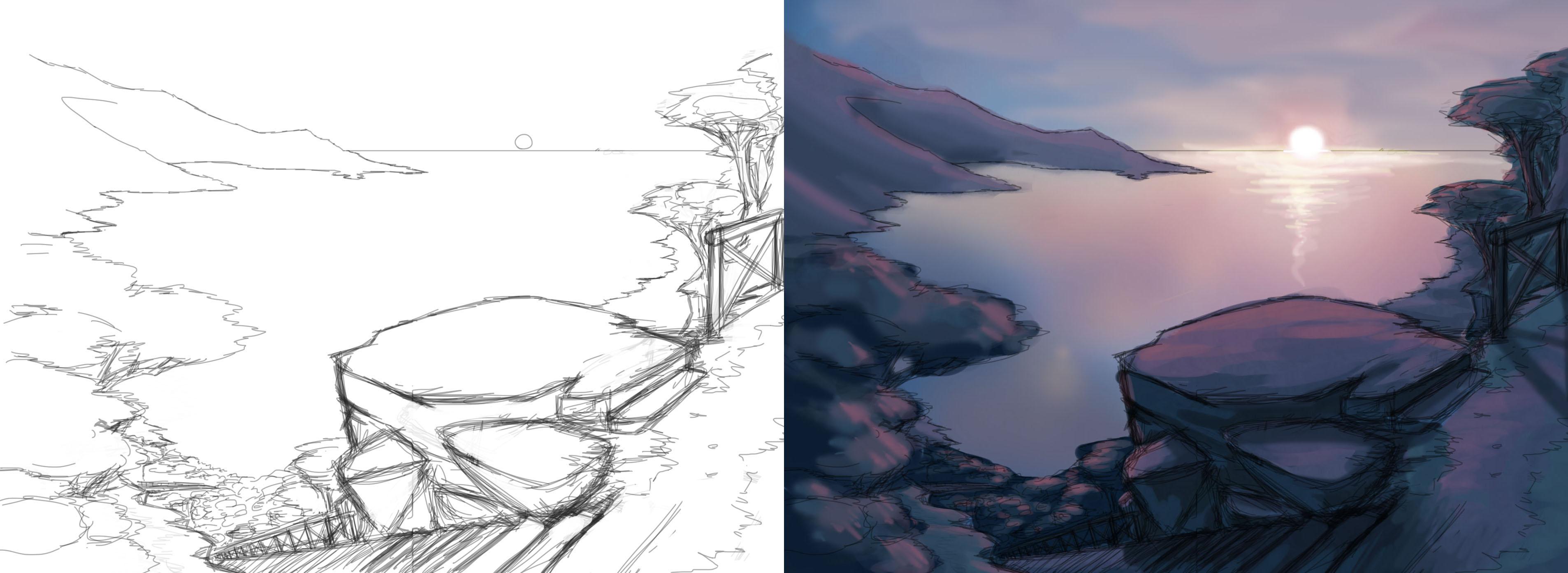 Sunset-Process