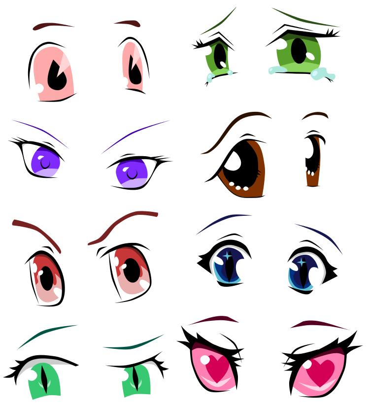 Anime Eye Study