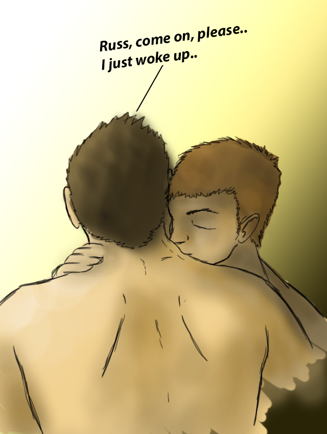Morning Kisses - Tommy and Russell