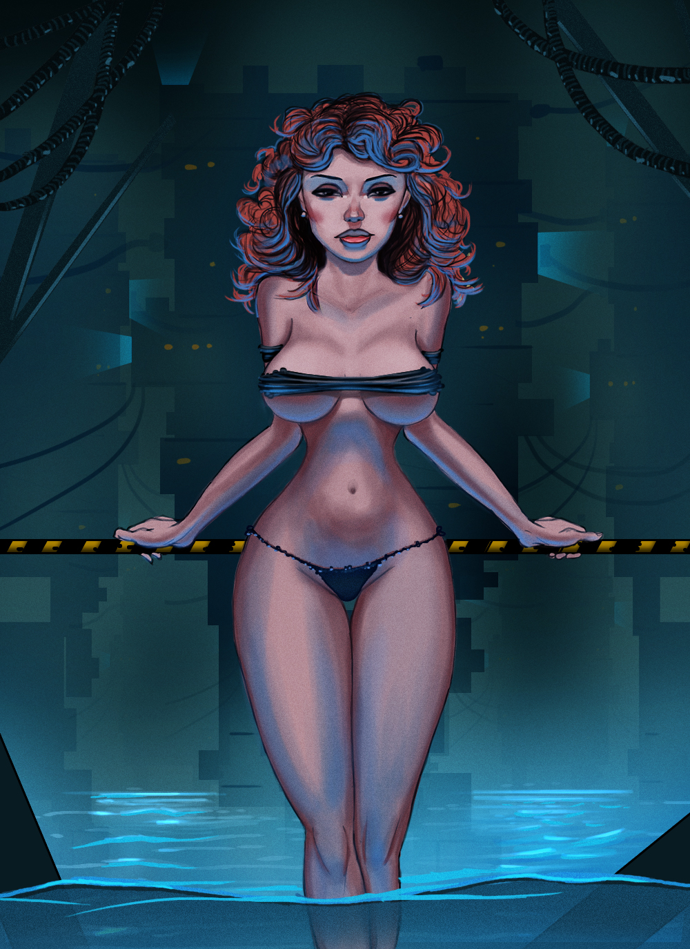 The Experiment - Pin Up