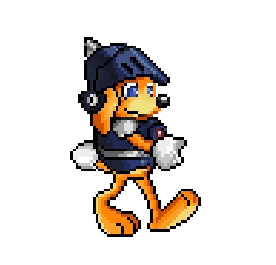 Alouf - 16 Bit Character.