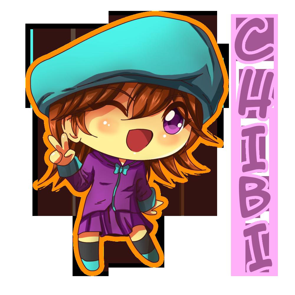 tomoko anime girl in chibi
