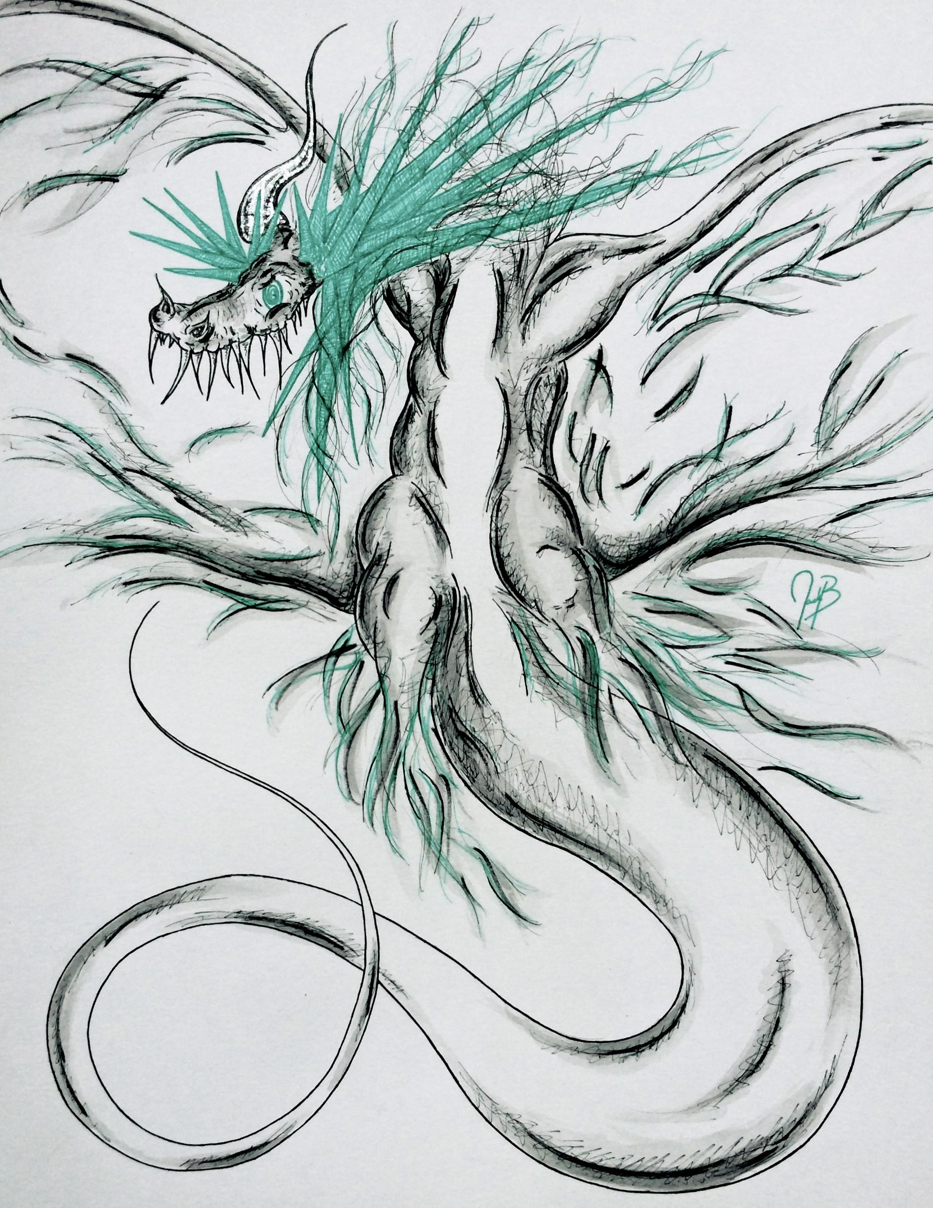 Commission: Dragon