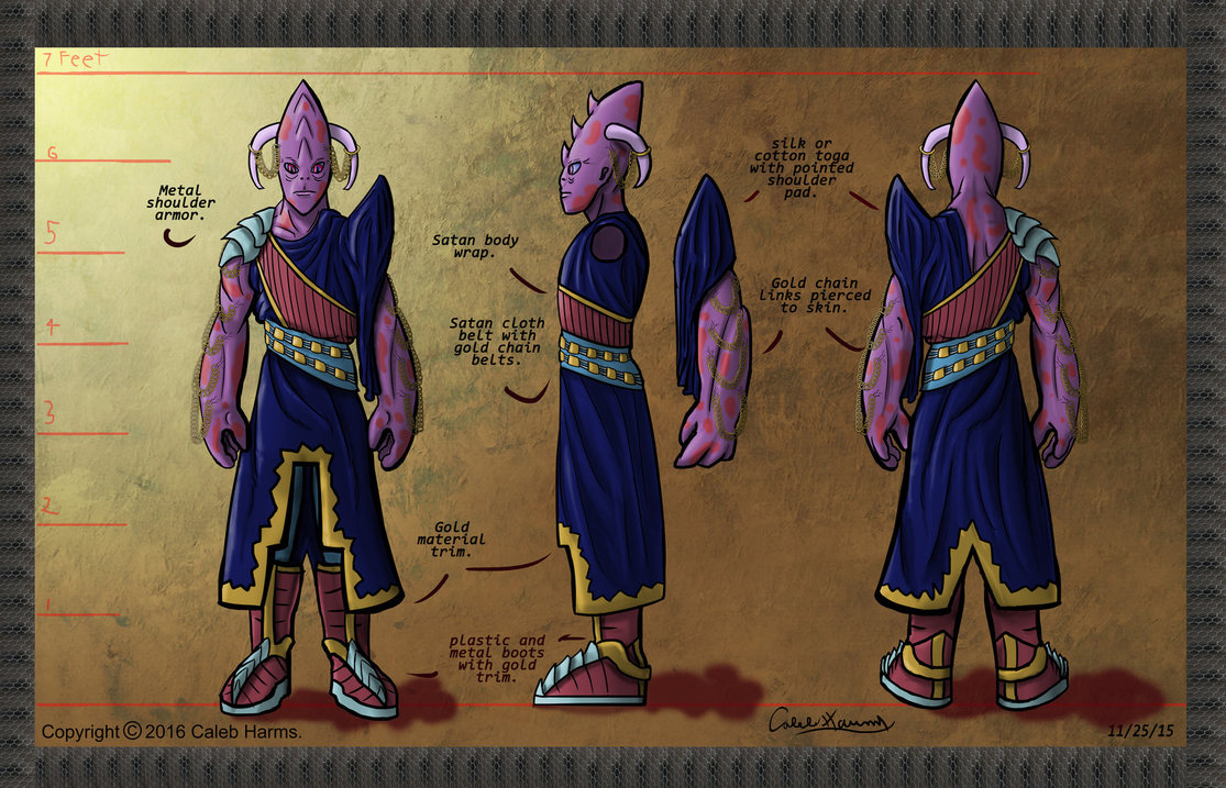 Alien dignitary character concept #1