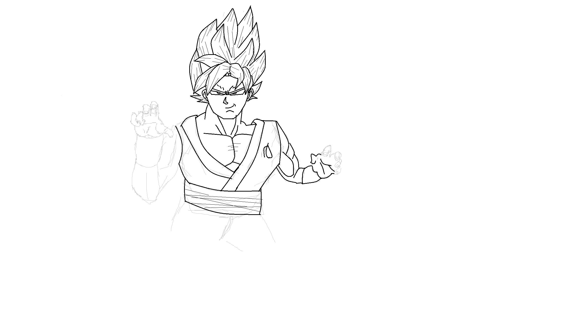 SSGSS Goku WIP