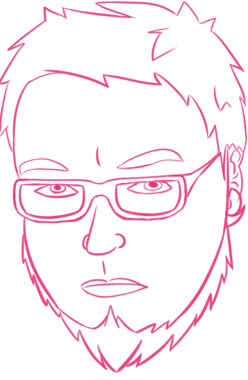 Portrait line work