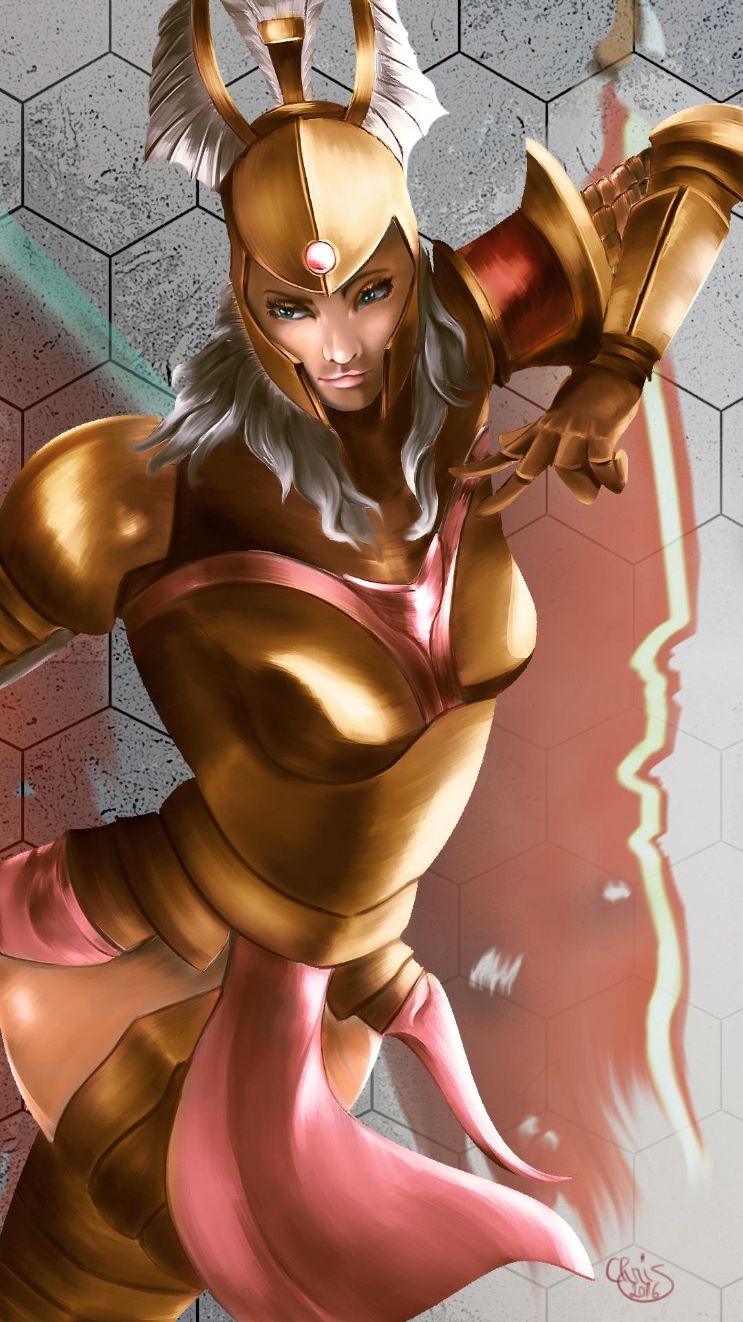 Legion Commander - fanart dota2