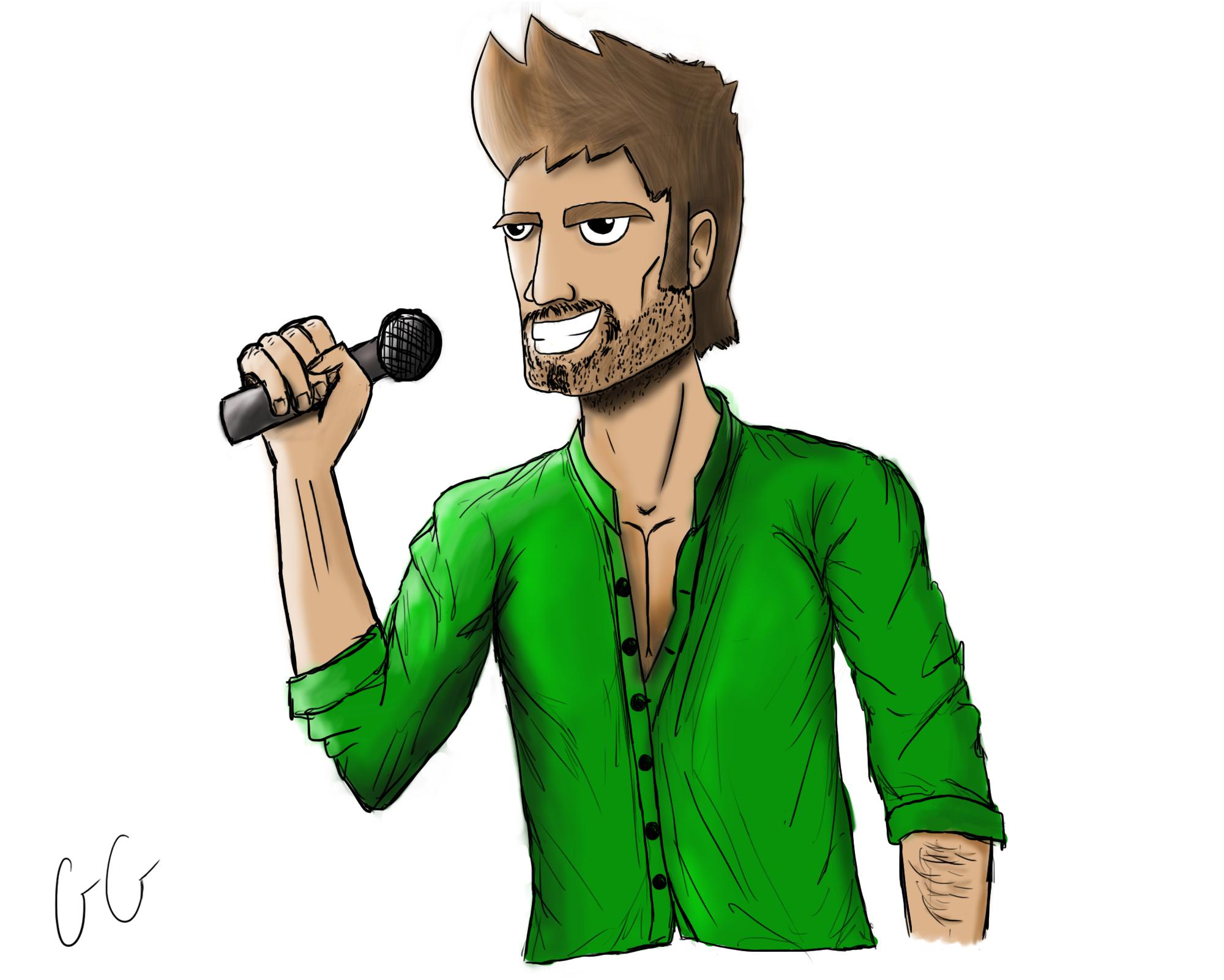 Cool Singer CHARACTER DESIGN