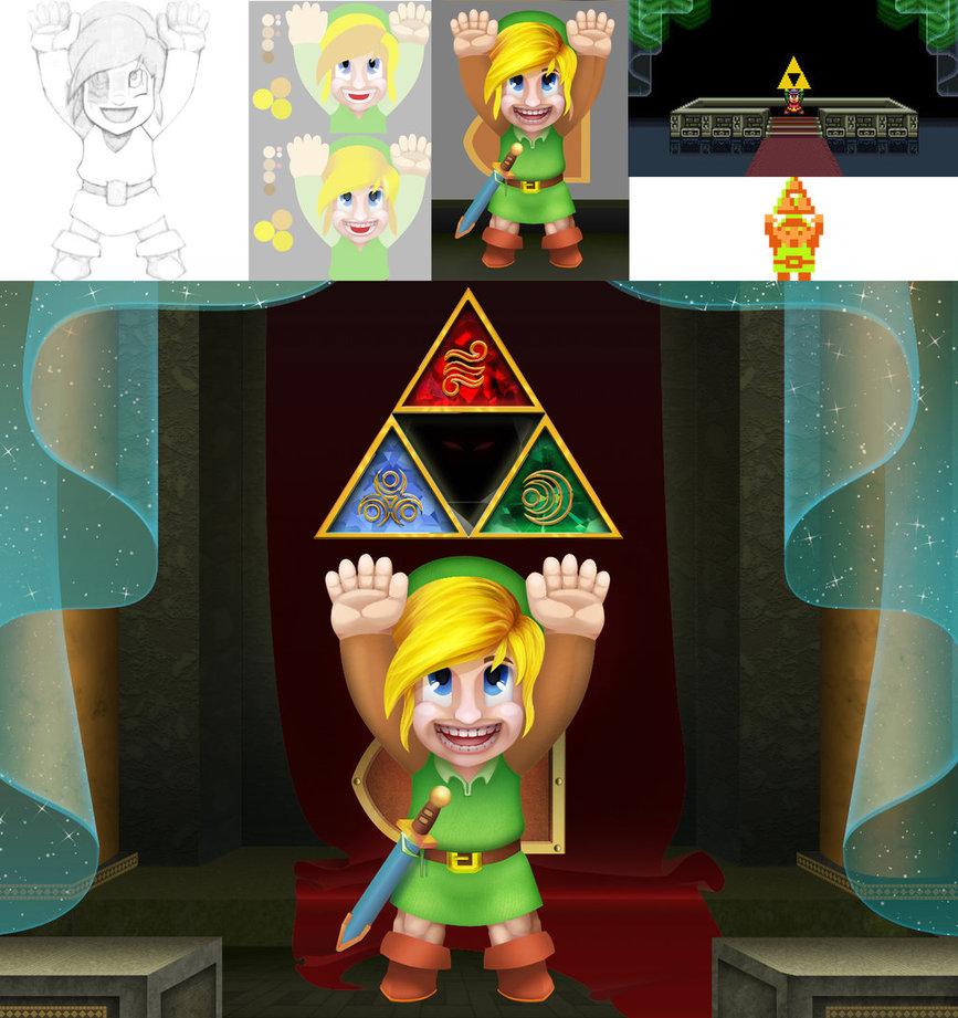 Link- Zelda tribute